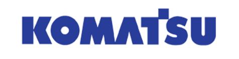 KOMATSU enginevalve